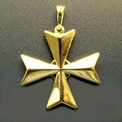 Maltese cross archives beloved treasures gold maltese cross aloadofball Image collections
